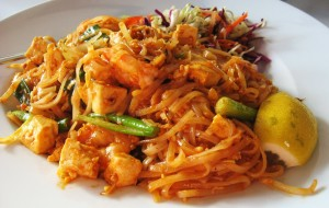 Pad Thai (Thai style Fried Noodles)1