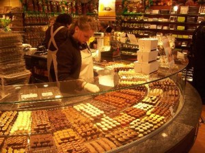 A Zurich Chocolate Shop
