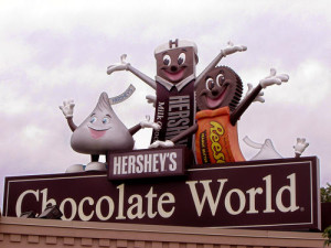 Chocolate World Hershey