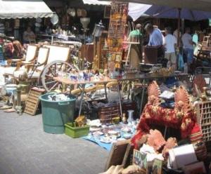 Monastiraki Flea Market Area