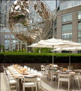 Terrace, Trump International Hotel and Tower, New York