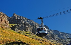 Revolving Cable Car to the Table Mountain