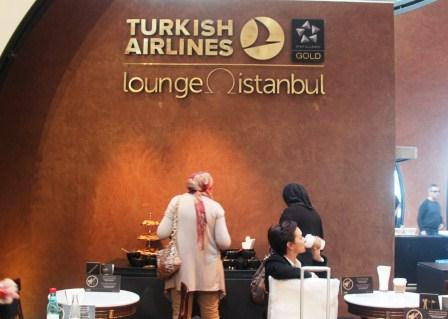 Turkish Airlines CIP Lounge at Ataturk Airport, Istanbul