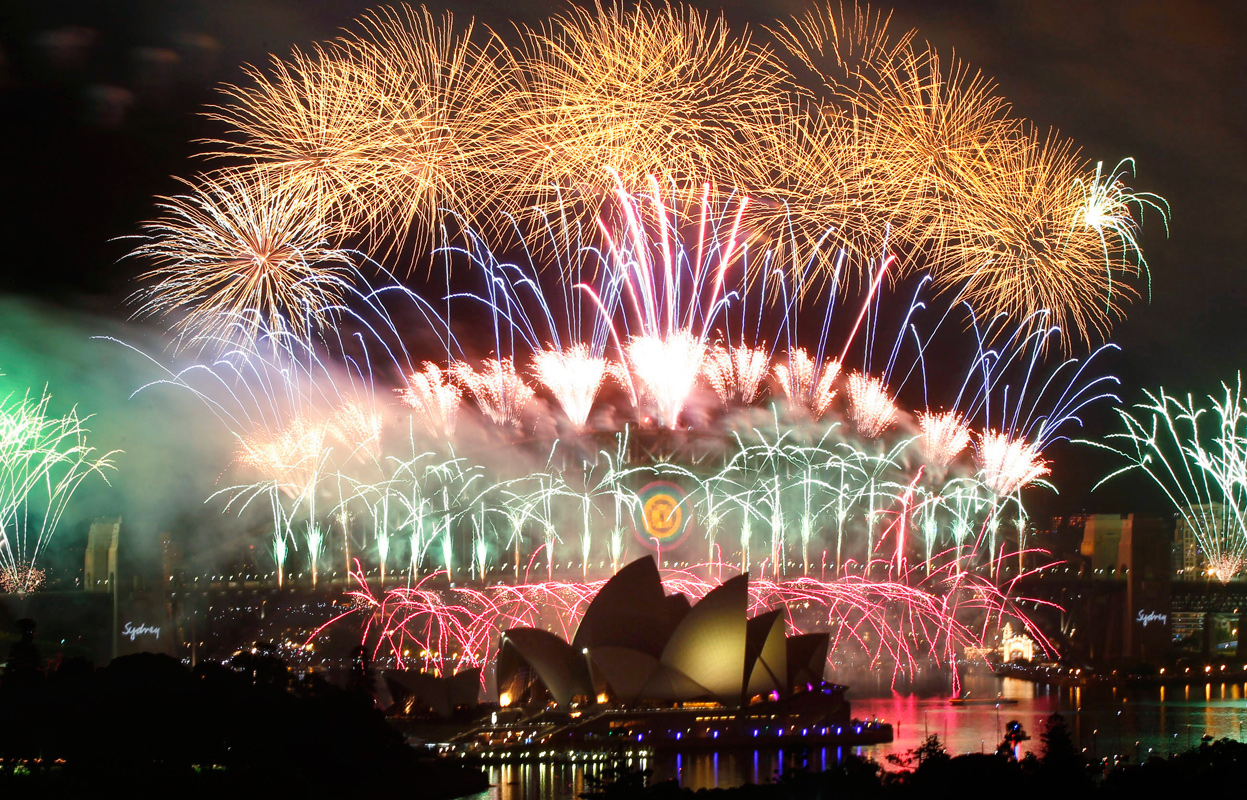 Five Best Places to Welcome the New Year