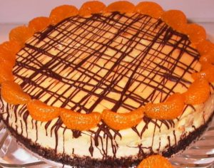 Orange and Cointreau Cheesecake