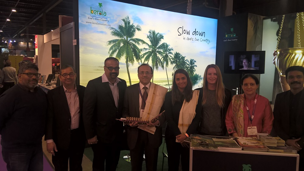 Kerala Tourism Pavilion Grabs Eyeballs at Vakantiebeurs 2017 in the Netherlands