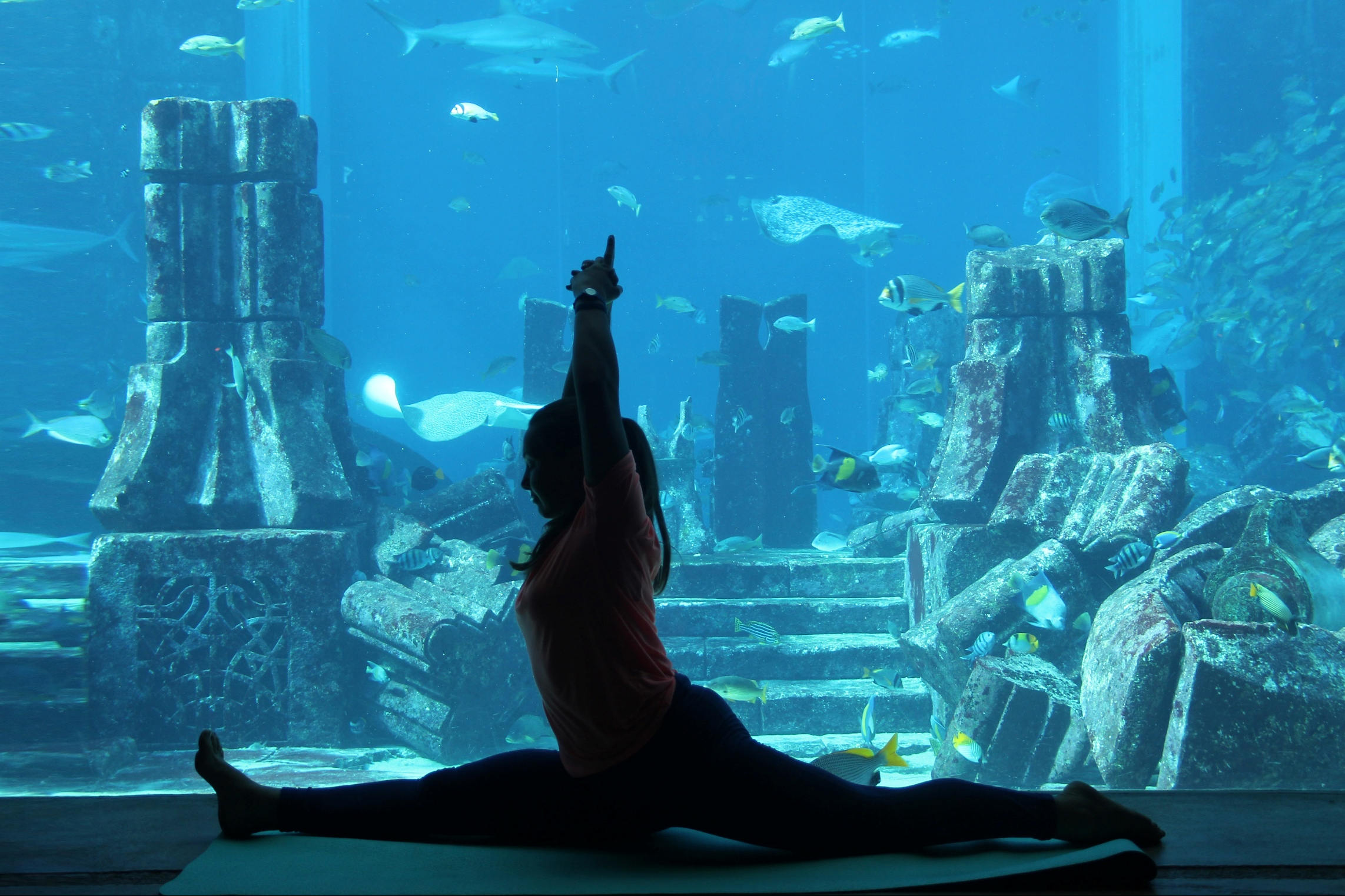Atlantis, the Palm Announce the Biggest Underwater Yoga Class in Dubai in Celebration of the International Day of Yoga